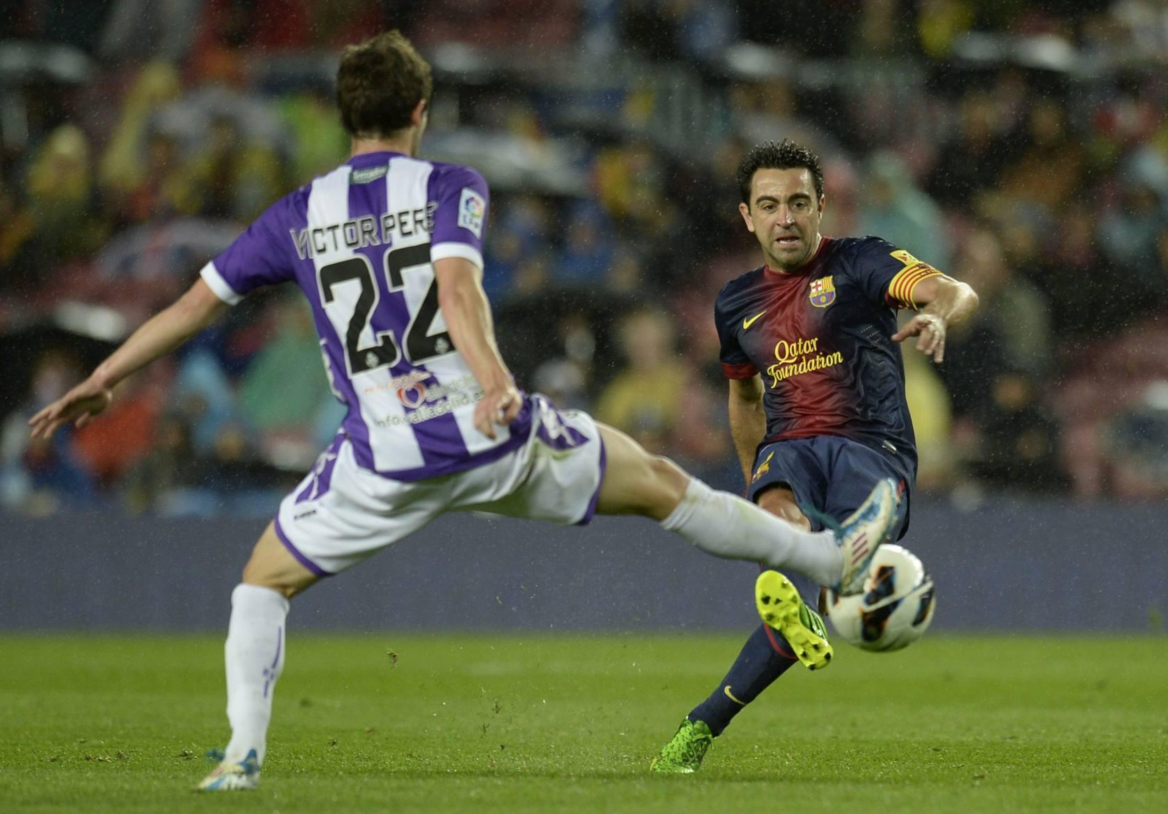 Barcelona-Valladolid (Primera Divisi&oacute;n)