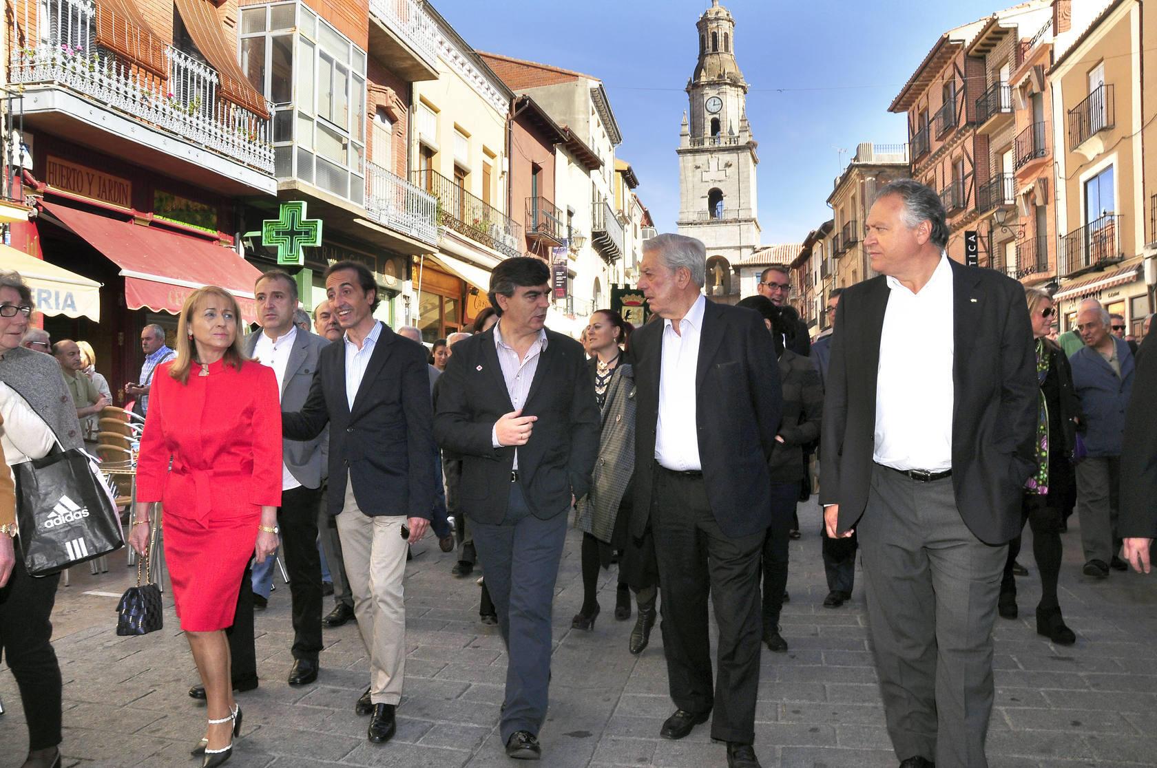 Visita de Vargas Llosa a Toro
