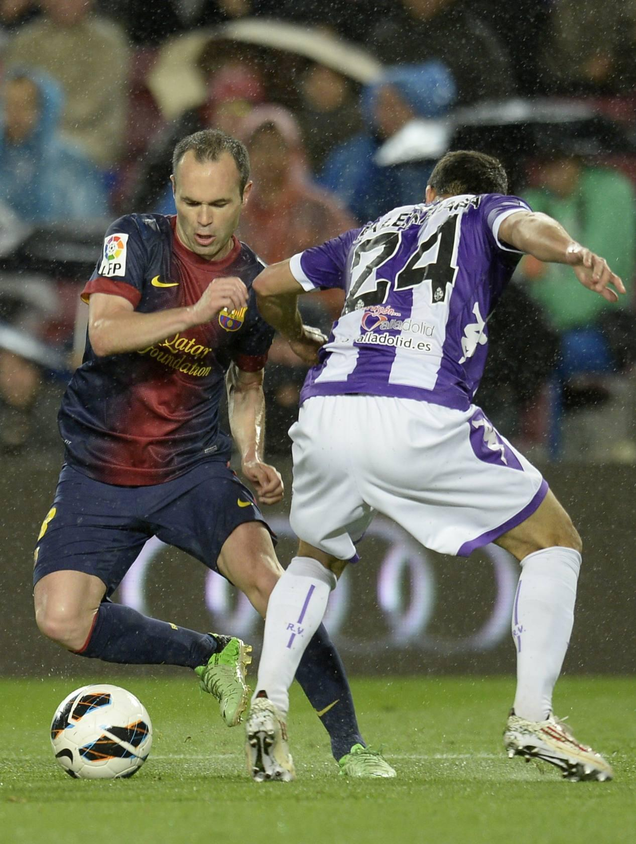 F. C. Barcelona 2 - 1 Real Valladolid