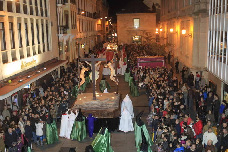 Procesi&oacute;n del Dolor y Procesi&oacute;n del Santo Entierro en Palencia
