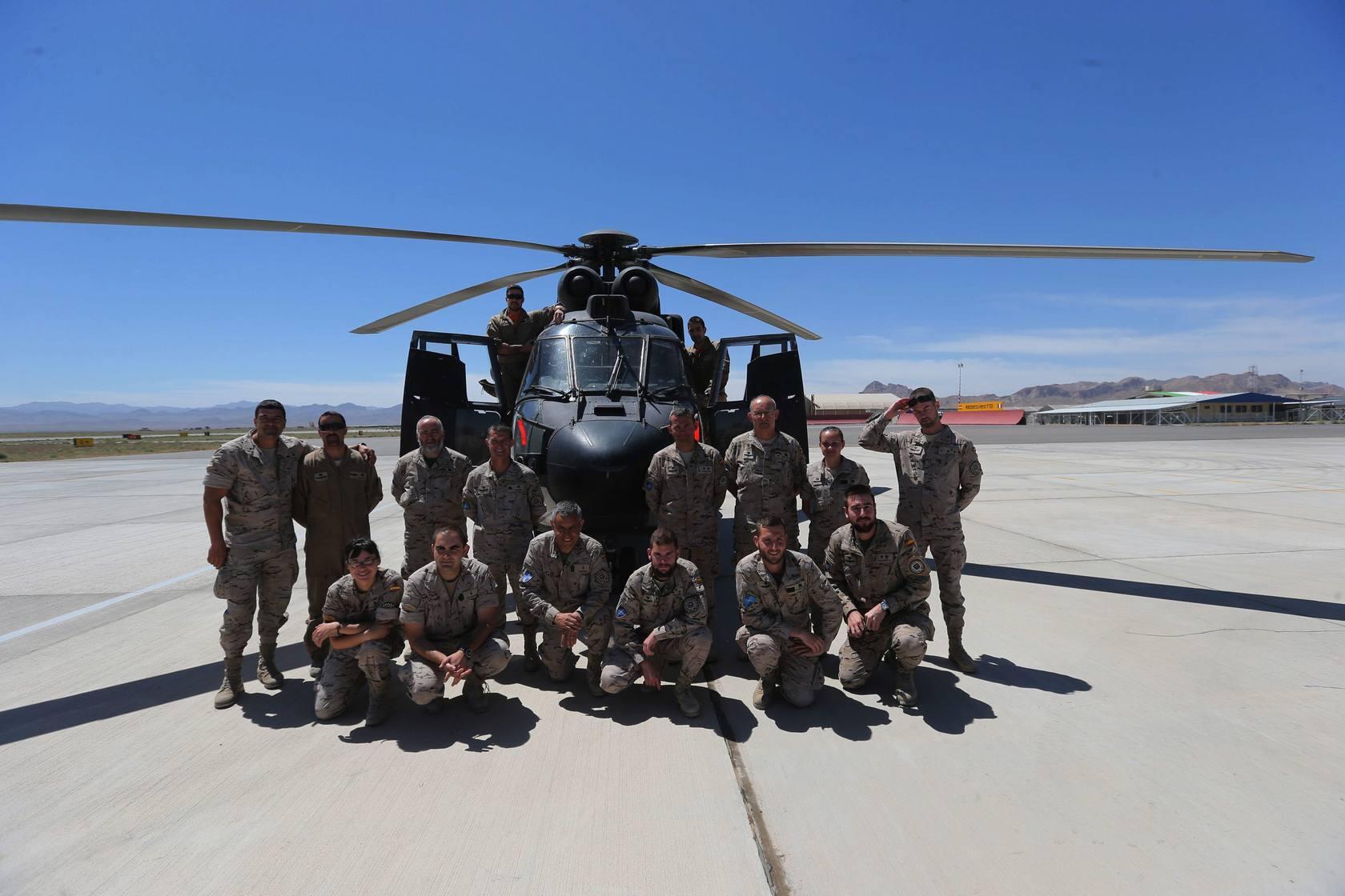 Instantáneas de las tropas españolas en Afganistán