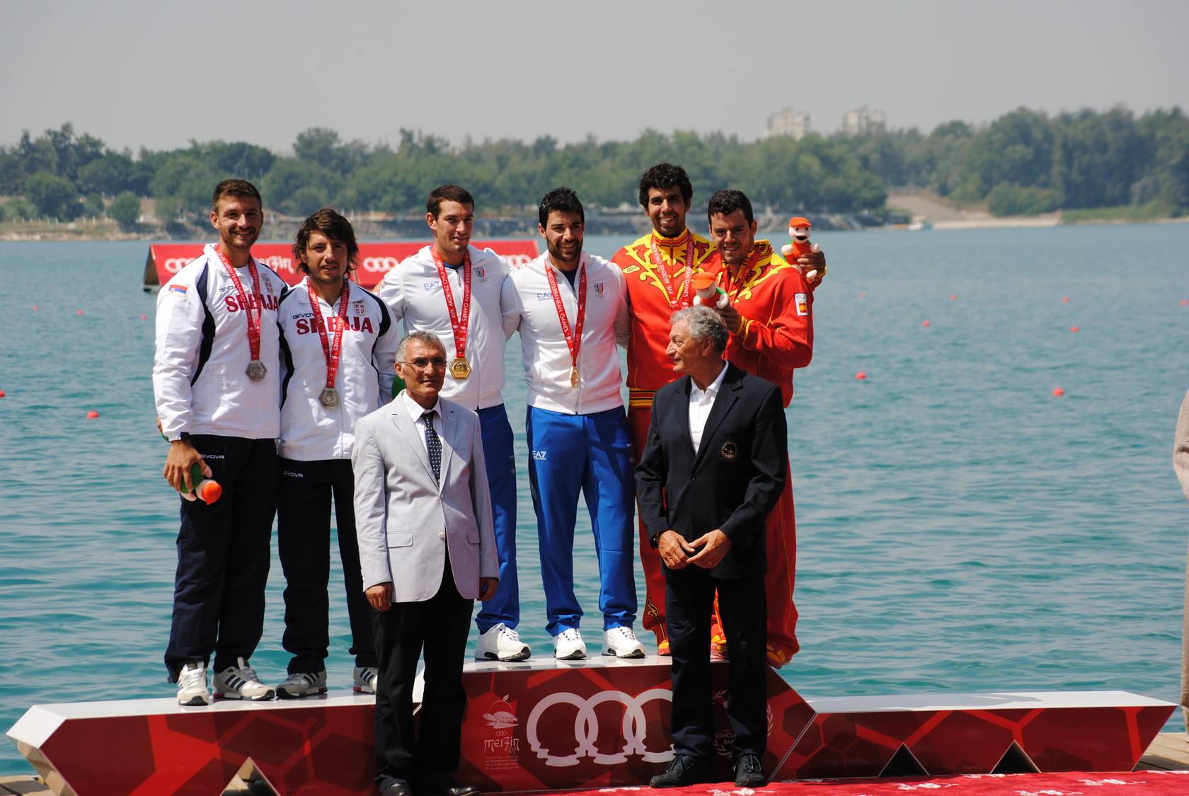 El palentino Diego Cosgaya, medalla de bronce en los Juegos del Mediterráneo