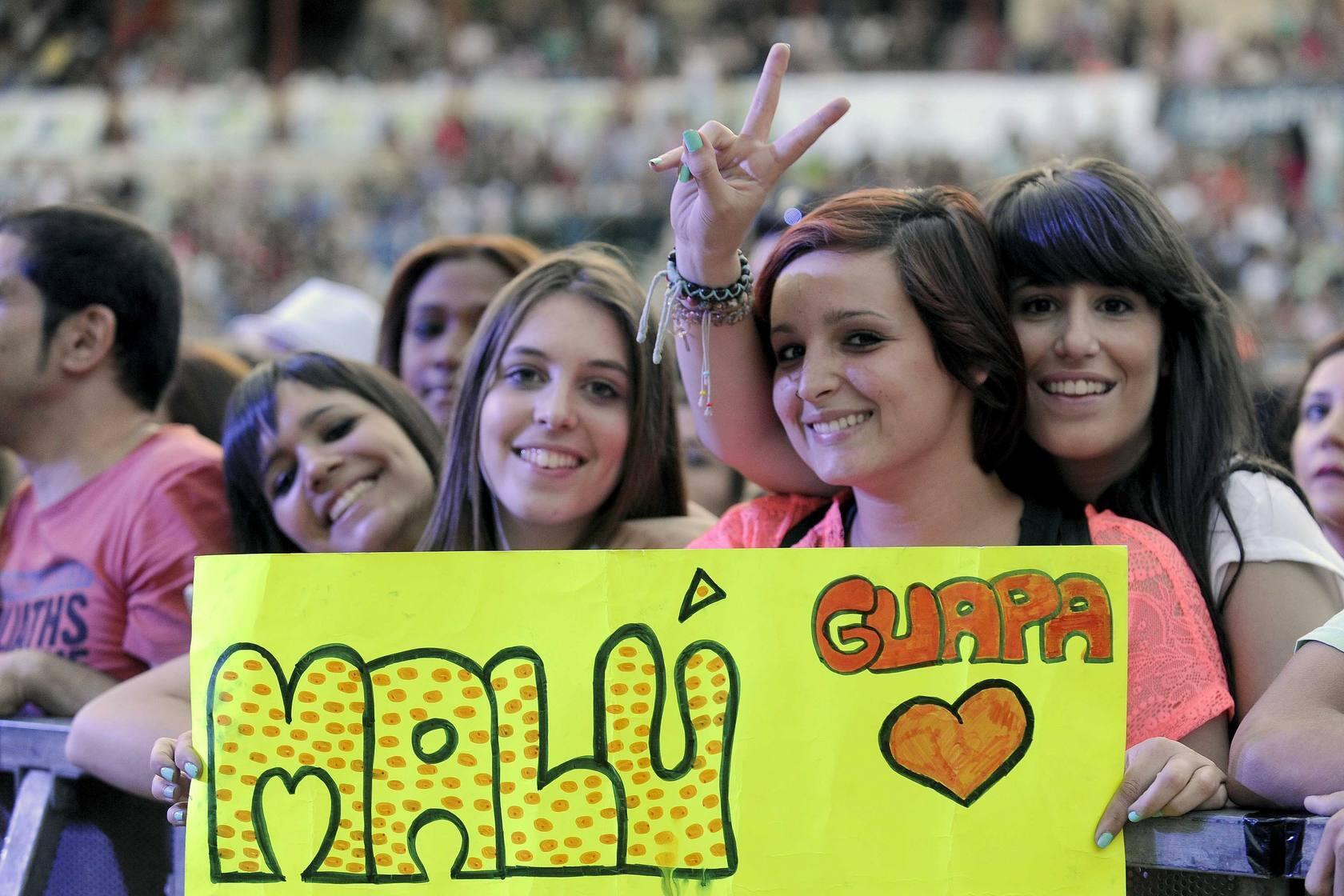 El público disfruta del Valladolid Latino 2013