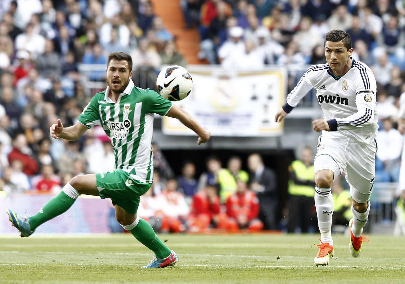 Real Madrid-Real Betis (Primera Divisi&oacute;n)
