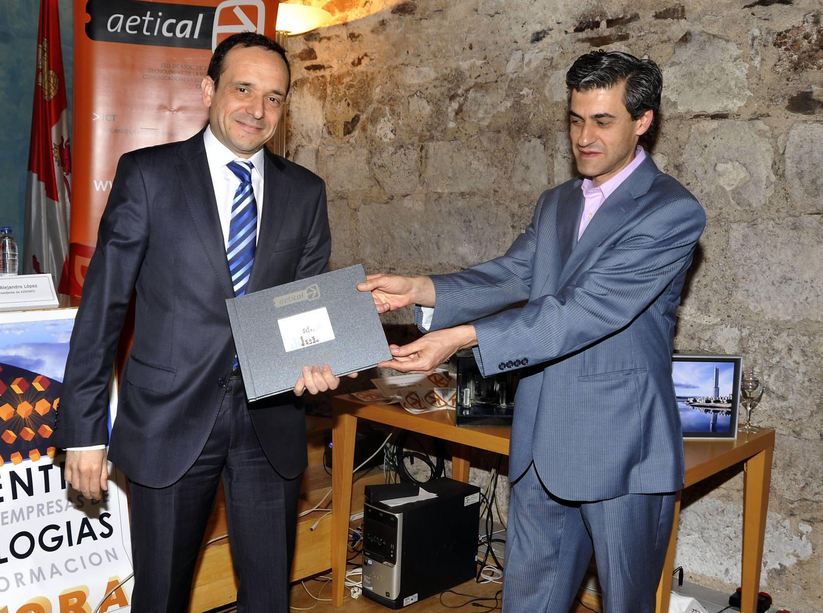 Undécimo encuentro regional de empresas de tecnologías de la información en Zamora