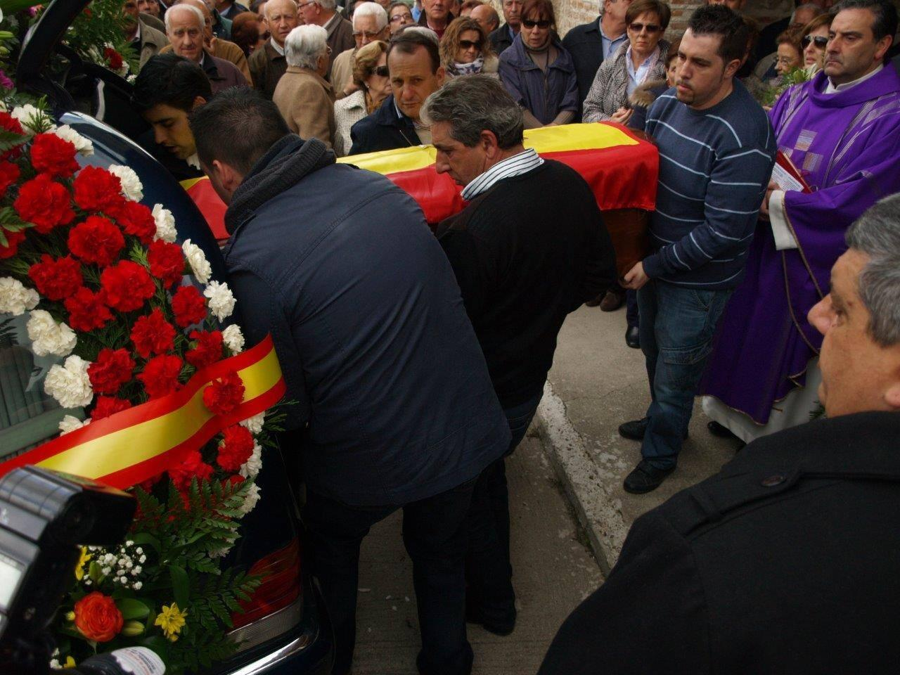 Funeral por el alcalde y el secretario del pueblo segoviano de Villeguillo