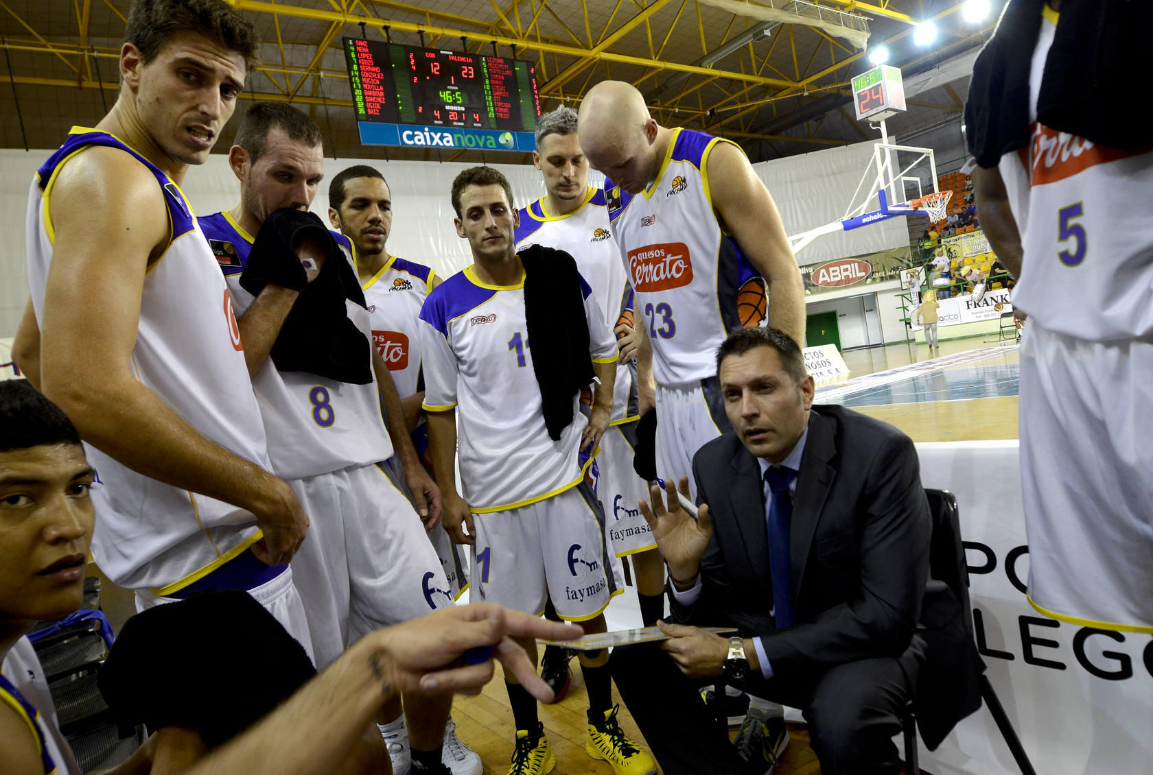 Aguas Sousas de Ourense 68-93 Palencia Baloncesto