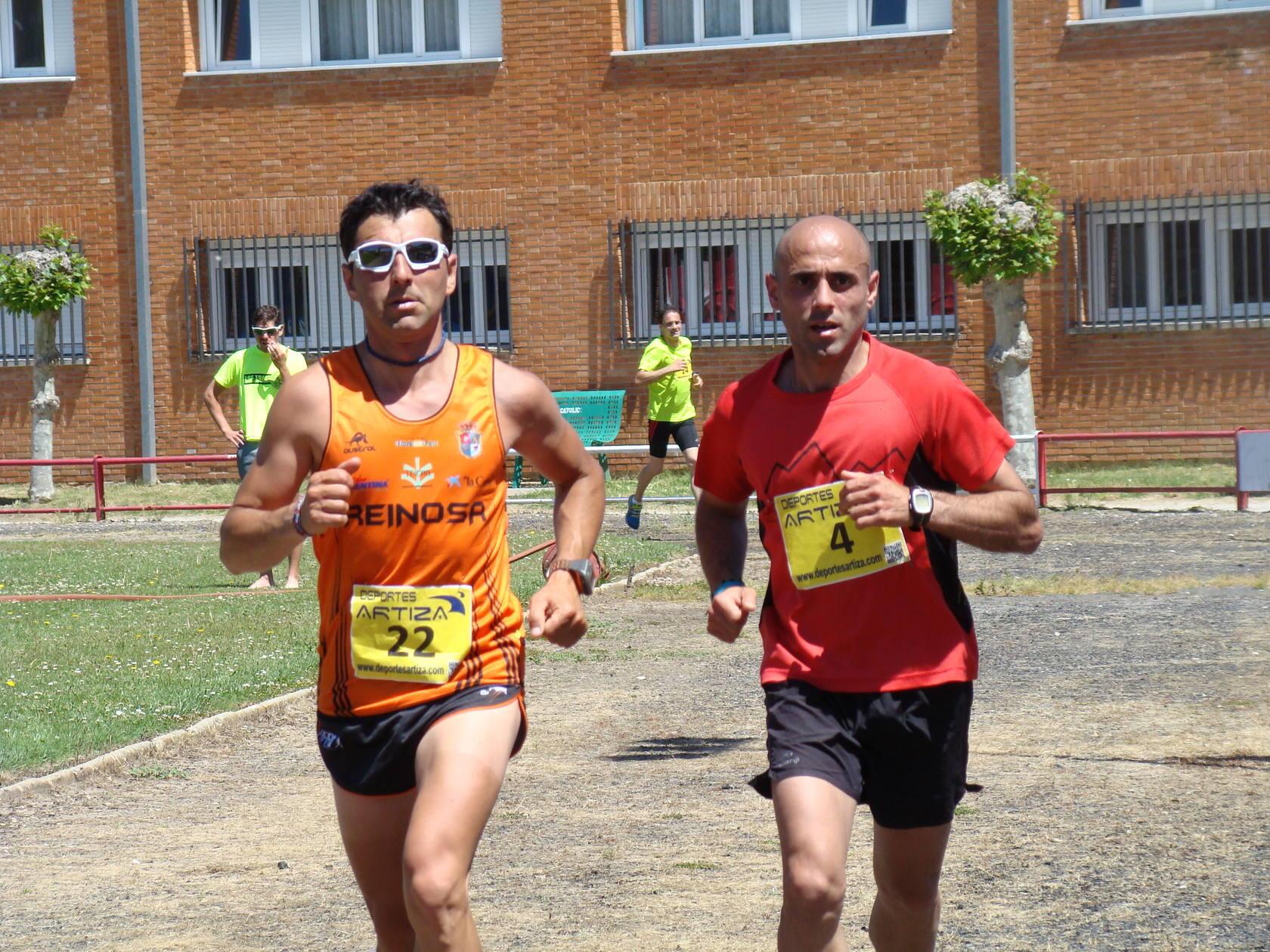 Carrera solidaria en Aguilar de Campoo