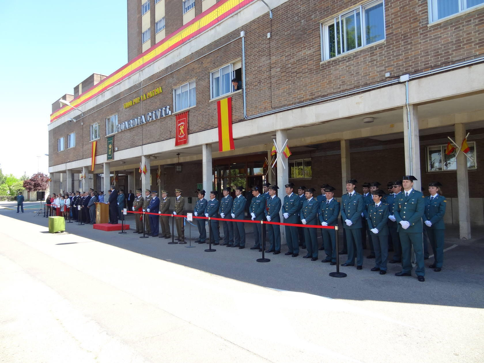 169 aniversario de la Guardia Civil en Valladolid