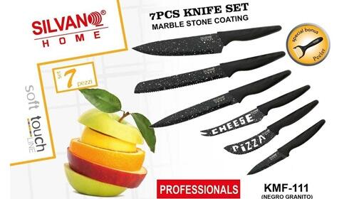 Juego de 6 cuchillos + pelador