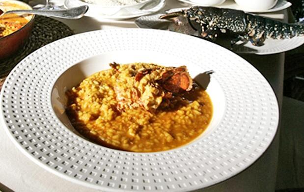Menú para 2 pax arroz con bogavante 22€