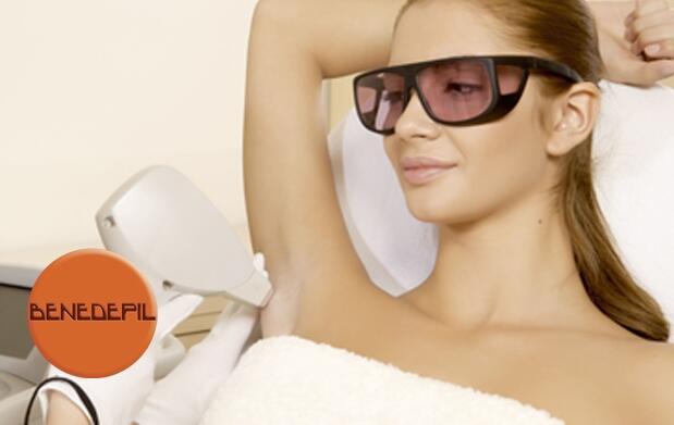 5 sesiones de depilación láser diodo 69€