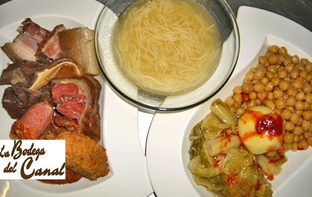 Cocido castellano para 2 personas por 18€