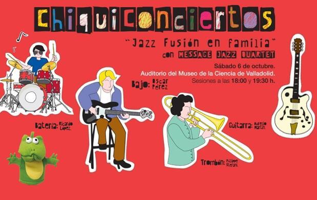 Chiquiconcierto Jazz Fusión en familia 6€