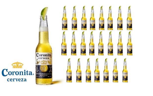 Pack de cerveza Coronita por 3.5€