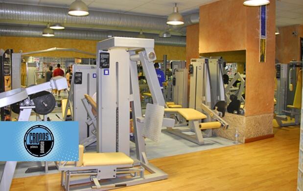 1 mes de gimnasio y actividades 19.90€