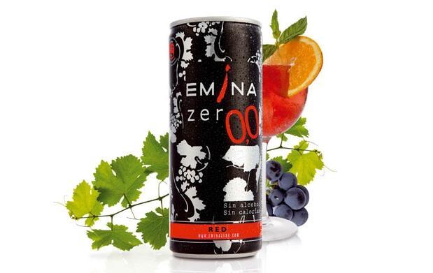 6 latas Vino Emina 0,0 por 4.50€