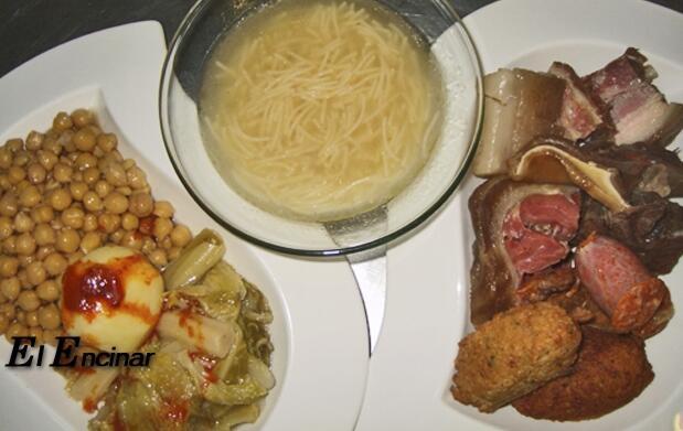Cocido castellano para 2 personas por 10€