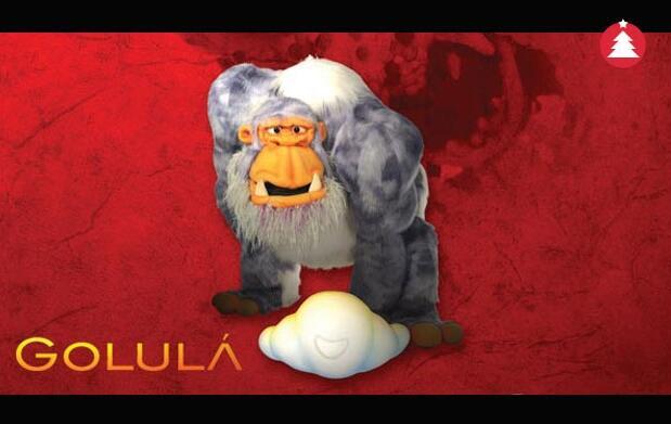 Golulá, obra de teatro infantil, 10.50€