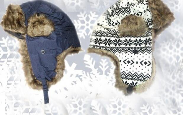 Gorro de invierno con orejeras 7€