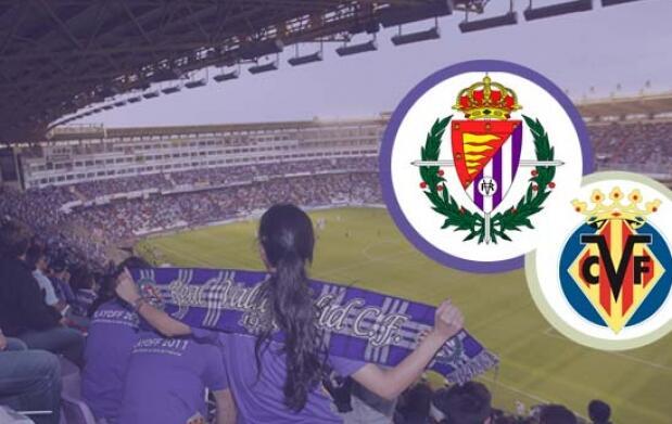 Entradas Real Valladolid - Villarreal