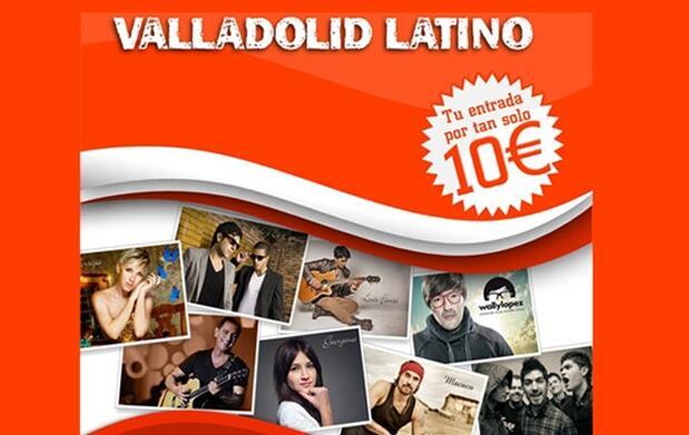Entradas para Valladolid Latino por 10€