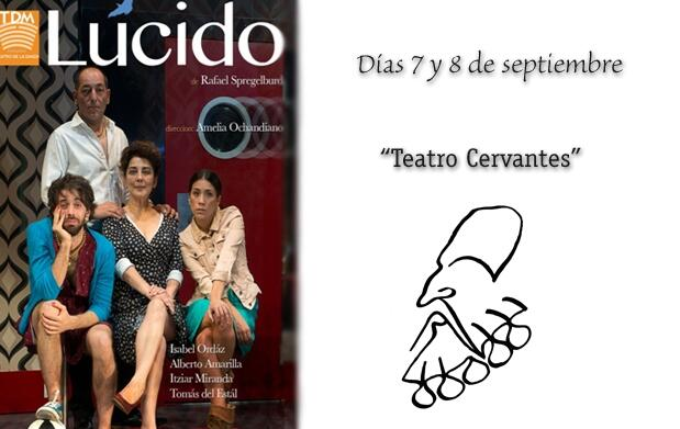 Entrada Lúcido en Teatro Cervantes 16€
