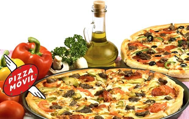 Menú Pizza para 2 con entrantes por 15€