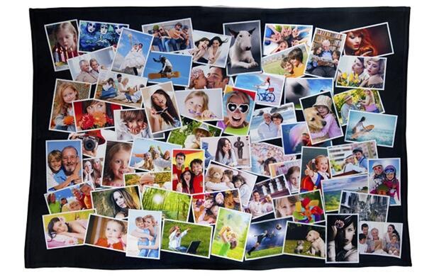 Manta personalizada con fotos 19.90€