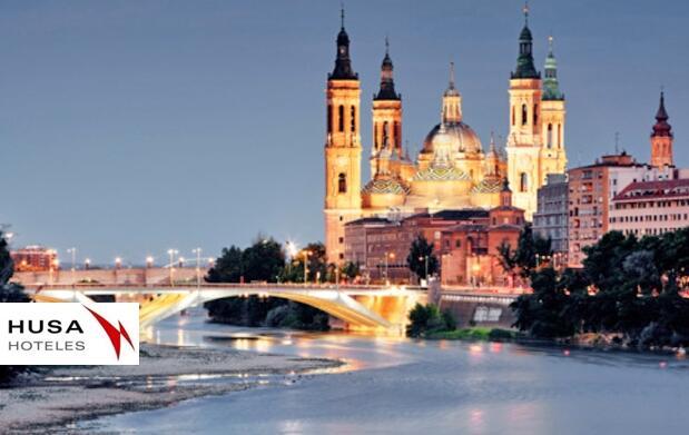 Escapada para 2 Zaragoza y acuario 85€
