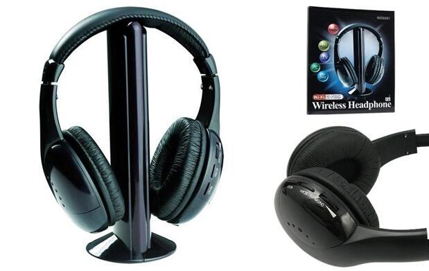 Auricular+Micrófono Inalámbrico 5 en 1