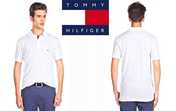 Polo Tommy Hilfiger Blanco 37€