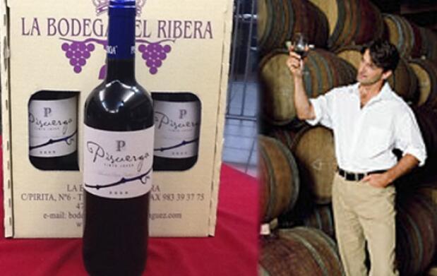 3 botellas de vino tinto Bodegas Pisuerga