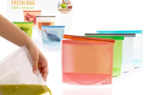 Bolsas herméticas de silicona 18€