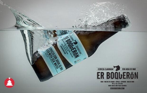 6 cervezas y botella de Agua de Mar 15€
