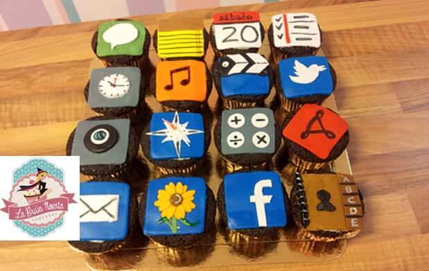6 Cupcakes artesanos por 8€