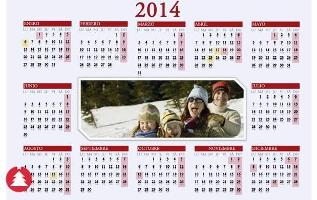 2 calendarios personales imantados 8,50€