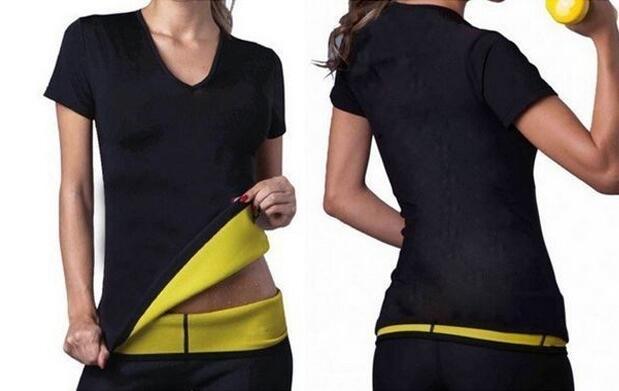 Camiseta sauna fitness para quemar grasa