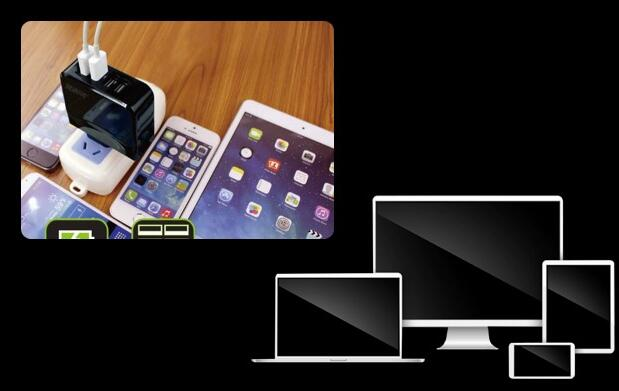 Enchufe adaptador 4 puertos USB 15,90€