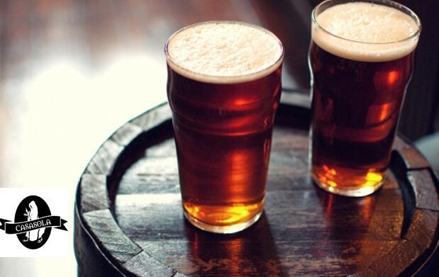 Visita para 2 Cervecera Casasola 21€
