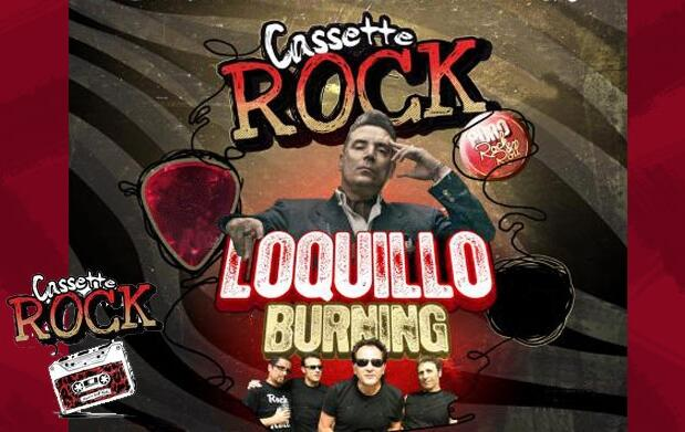 Cassette Rock Loquillo y Burning 18€