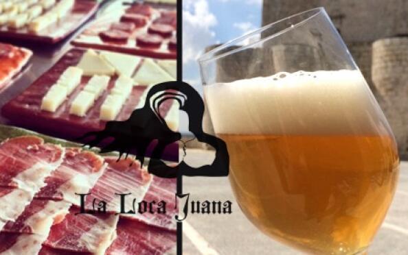 Taller de cata cervecera para 2 personas en el Castillo de Íscar