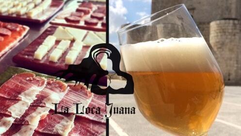 Visita/taller cata cervecera para 2 personas en el Castillo de Íscar