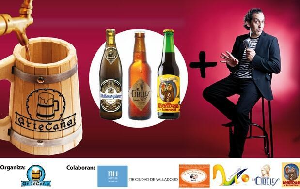 Cata de cerveza+ monólogo para 2 por 15€