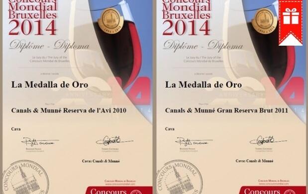 Brinda con los Medalla de Oro de Canals&Munné