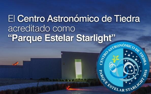 Sesión en el centro astronómico de Tiedra