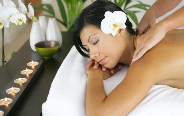 Masaje anti-estrés y relajante 19€