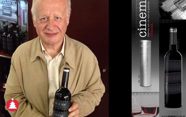 Botella de vino Cinema Crianza 9€