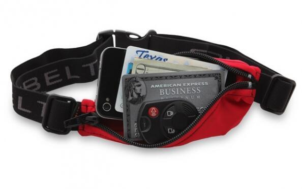 Cinturón-riñonera expandible para runners y otros deportes