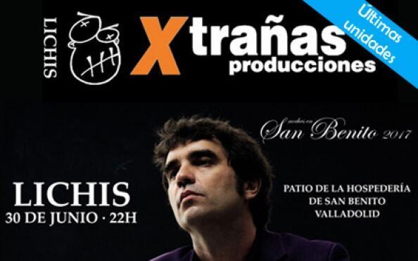 Noches en San Benito: concierto de Lichis